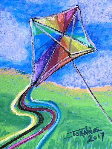 Kite Copyright Joanne Howard 2017