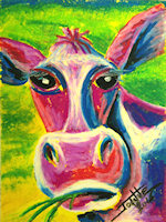 Cow copyright Joanne Howard 2015