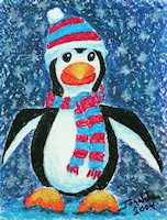 Chilly Penguin copyright Joanne Howard 2004