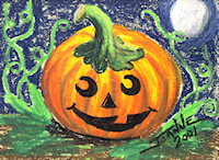 Pumpkin Copyright Joanne Howard 2001