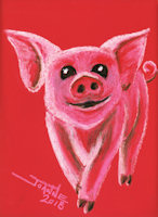 Year of the Pig copyright Joanne Howard 2018